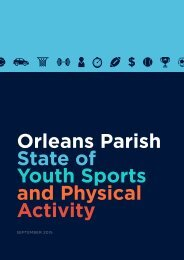 Youth Sports and Physical Activity