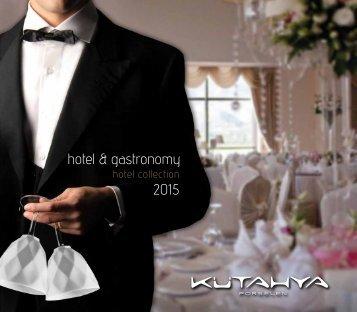 Kütahya Porselen Hotel & Gastronomy Kataloğu