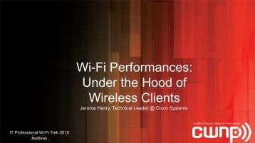 Under the Hood of Wireless Clients