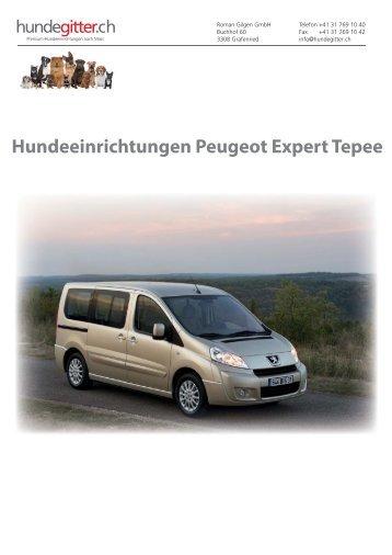Peugeot_Expert_Tepee_Hundeeinrichtungen