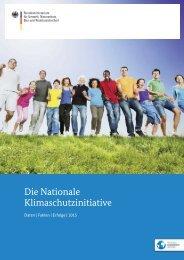 Die Nationale Klimaschutzinitiative