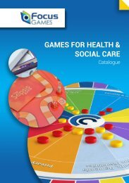 GAMES FOR HEALTH & SOCIAL CARE