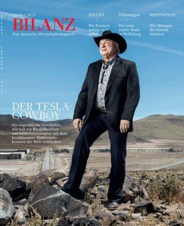 DER TESLA- DER TESLA- COWBOY COWBOY