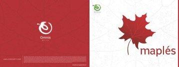 maple brochure