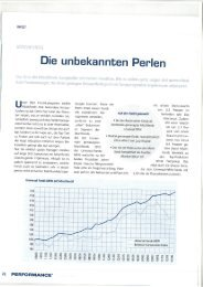 Performance - Mischfonds ! - Greiff Capital Management AG