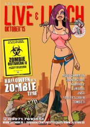 LIVE AND LUNCH 10/2015