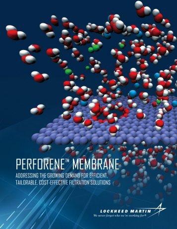 Perforene membrane