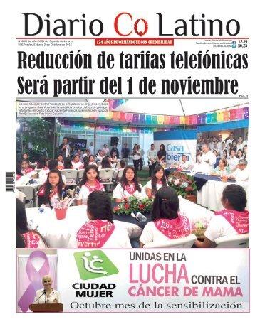 Edición 03 de Octubre de 2015
