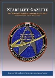 Starfleet-Gazette, Ausgabe 030 (Juli 2015)