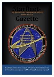 Starfleet-Gazette, Ausgabe 001 (Januar 2013)