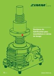 Systèmes de lubrification pour installations à vérins de levage
