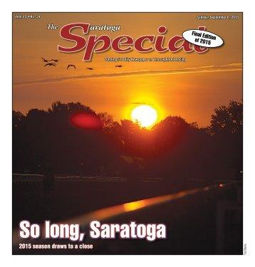 So long Saratoga