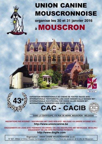 union canine mousgronnoise - Union Canine Mouscronnoise