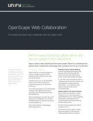 OpenScape Web Collaboration