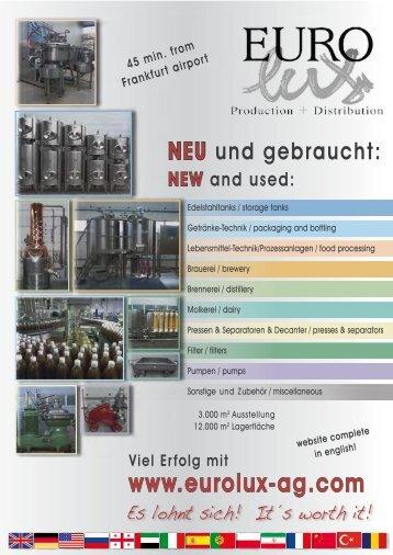 Eurolux-Katalog 2014