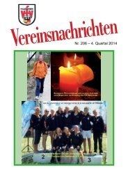 VfV Hildesheim - Vereinszeitung 4/2014