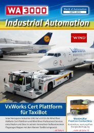 WA3000 Industrial Automation September 2015