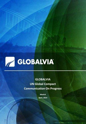 GLOBALVIA UN Global Compact Communication On Progress