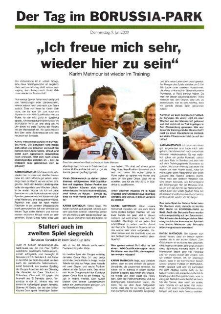 Tag im Borussia Park