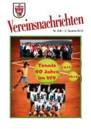 VfV Hildesheim - Vereinszeitung 2/2015