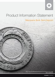 Product Information Statement