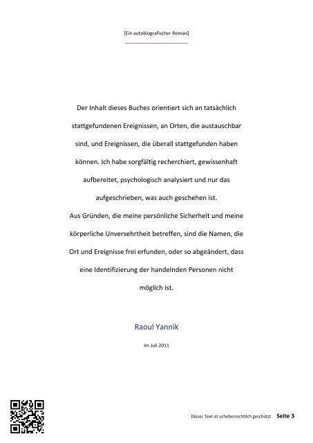 TREUFLEISCH - VIERZEHNTES KAPITEL (Die Mischung macht´s)
