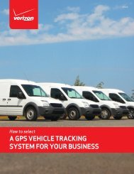 A GPS VEHICLE TRACKING SYSTEM FOR YOUR BUSINESS