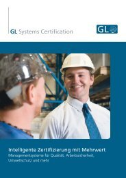 GL Systems Certification - GL Source
