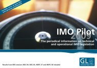 The periodical information on technical and operational ... - GL Group
