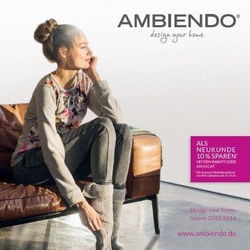 AMBIENDO Herbst-Winter-Katalog 15