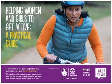 Helping women and girls to get active a practical guide