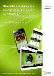 Baromètre des connexions Internet mobiles en France métropolitaine