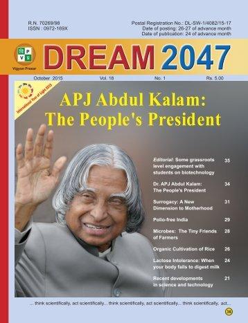 APJ Abdul Kalam The People's President