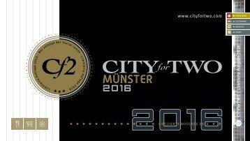 CITYforTWO MÜNSTER | Limitierte Ausgabe 2016