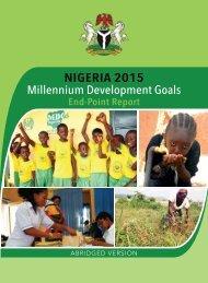 Nigeria 2015 Millennium Development Goals