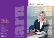 Anglia Law School brochure 2016-17