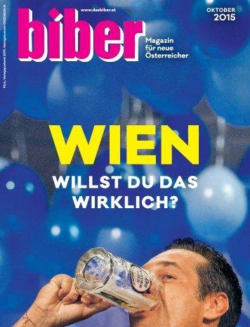 Die biber Oktober Ausgabe