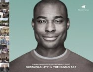 SUSTAINABILITY IN THE HUMAN AGE