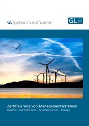 GL Systems Certification - GL Group