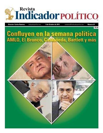 Confluyen en la semana política