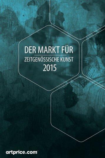DER MARKT FÜR 2015