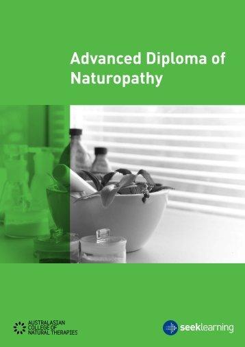 Advanced Diploma of Naturopathy