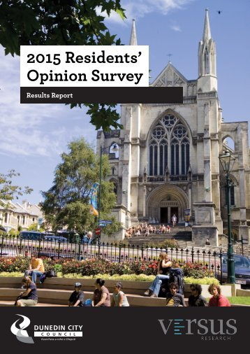 2015 Residents' Opinion Survey