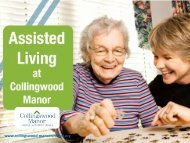 Assisted Living in Collingswood