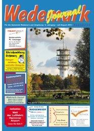 I Welt der Luftfahrt: Hannover Airport - Wedemark Journal und ...