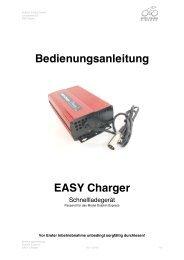 Bedienungsanleitung EASY Charger