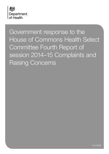 Cm9050-Government-Response-Complaints-and-Raising-Concerns