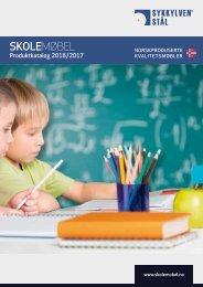 Sykkylven Stål - Skolemøbler Produktkatalog 2016-2017