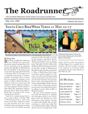 The Roadrunner - Santa Cruz County Cycling Club