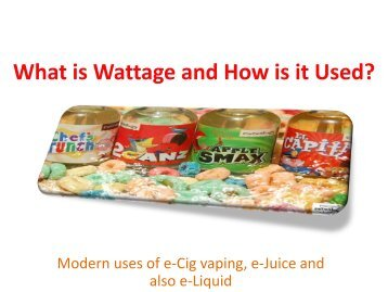 What is Wattage and How is it Used